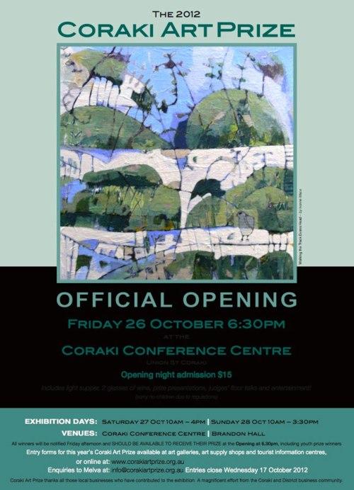 2012 art prize poster