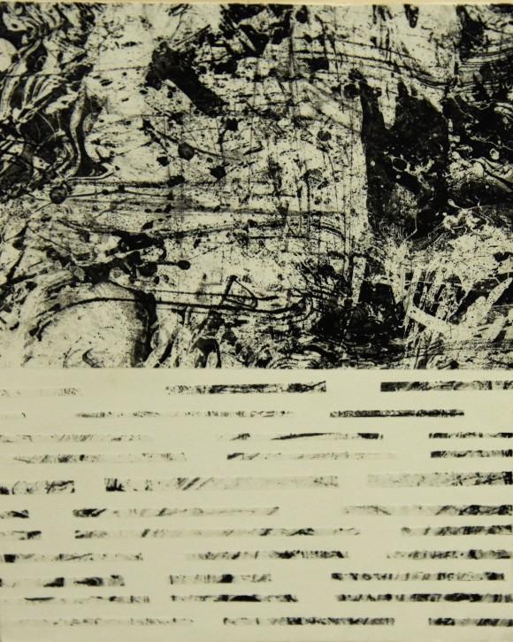 SASCHA BRAVERY 'UNTITLED' Etching (2)
