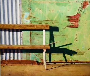 JOANNA BURGLER 'EMPTY BENCH' small