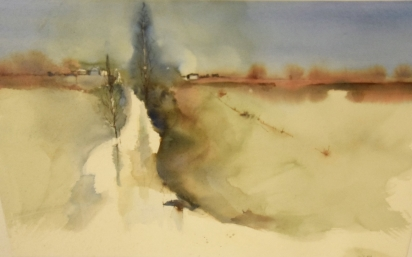 Lesley Ryan 'Travelling View 7'